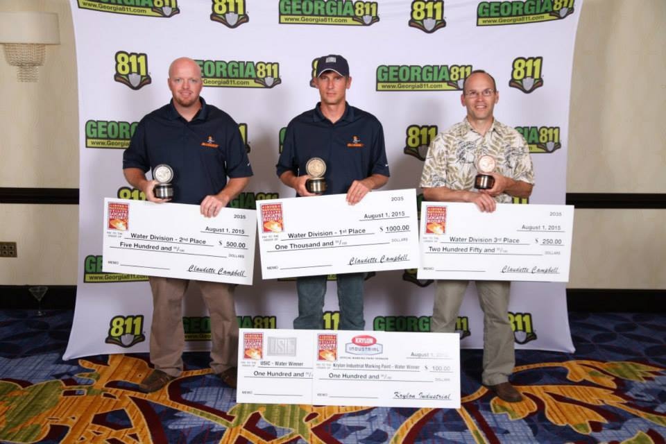 Tennessee 811 Locator wins at Locate Rodeo 2015