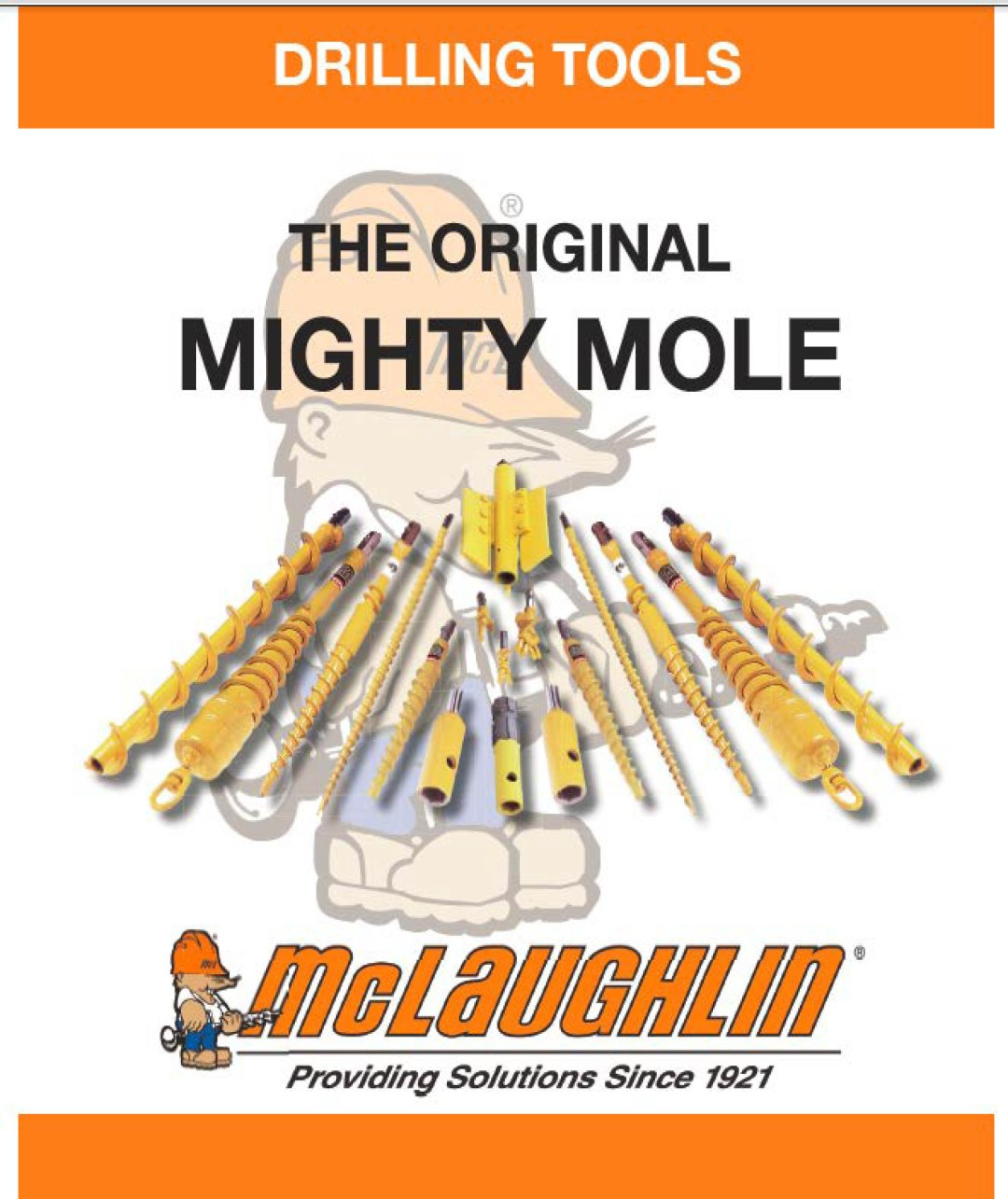 Mighty Mole Drilling Tool catalog