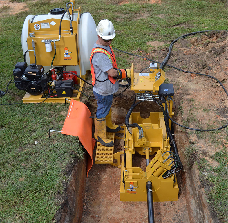 Easy to operate. Fully hydraulic vices provide fast and reliable rod assembly and disassembly with ease of operation.