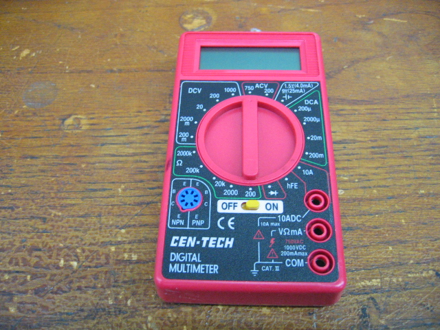 Astroai digital multimeter trms 4000 counts with dc ac voltmeter and. Harbor Freight Cen-Tech Digital Multimeter | eBay