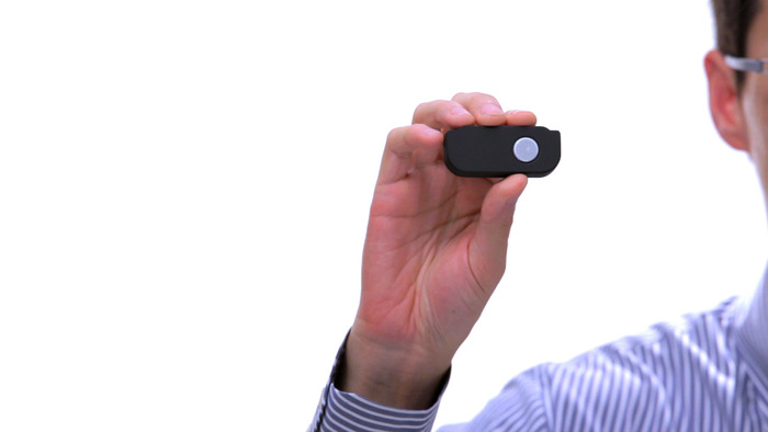 The wireless shutter remote
