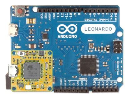 The smARtCORE L is 100% compatible with ARDUINO™ Leonardo