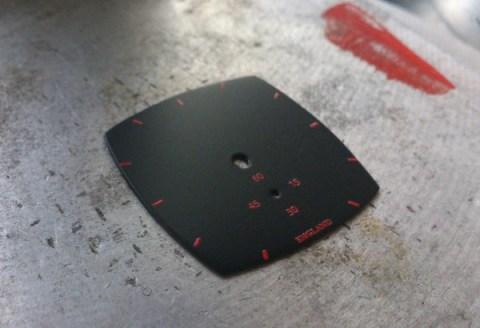 A part printed dial
