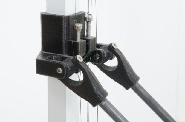 Linear motion component closeup