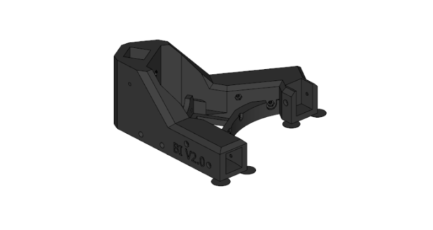 Every component is modelled in Sketchup and will be released after the campaign