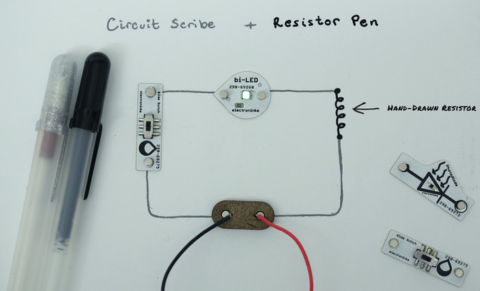 Basic Starter Wiring Diagram Circuit Scribe Draw Circuits Instantly By Electroninks