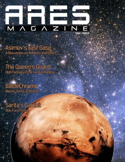 Draft of Ares Magazine Issue #1 Cover