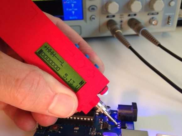 tiq displaying logic level (LCD, LED, voltage and audio)