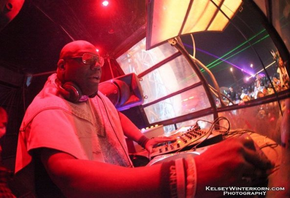 The Legendary Carl Cox, one of the many DJs we have hosted over the years
