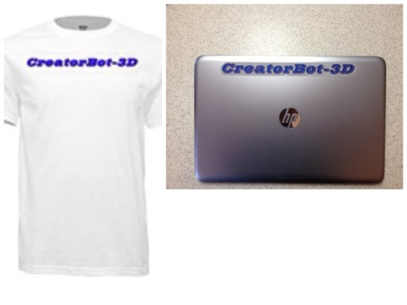 CreatorBot T shirt and Decal