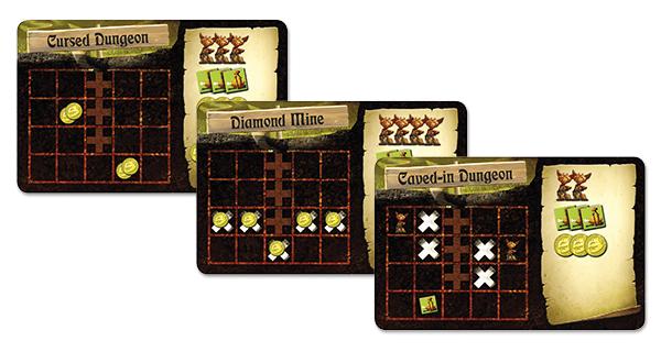 Cartas de la mini-expansión Dungeon Setup