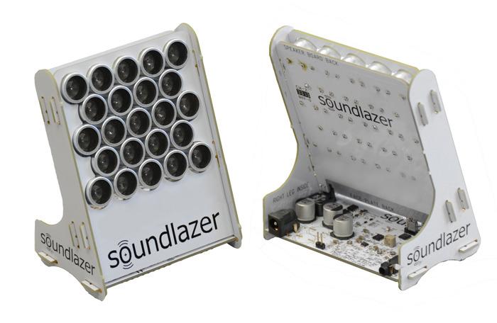沈浸在音樂之中...貓窩工坊DRC: Soundlaser指向喇叭