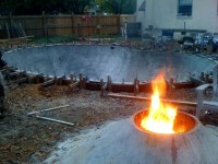 The Lost Bowl; a diy backyard concrete skatepark. by ...