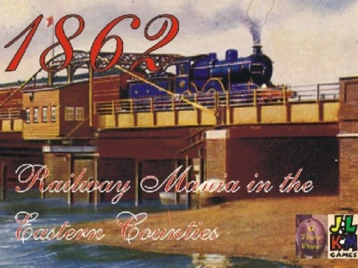 Portada de 1862: Railway Mania in the Eastern Counties