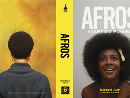 """""""AFROS - A Celebration Of Natural Hair"""" by Michael July"""