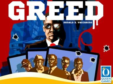 Portada de Greed