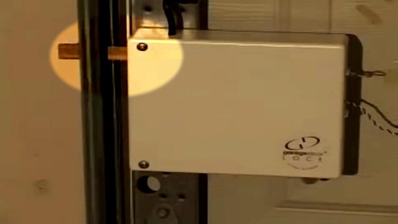 Garage Remote Deadbolt Lock