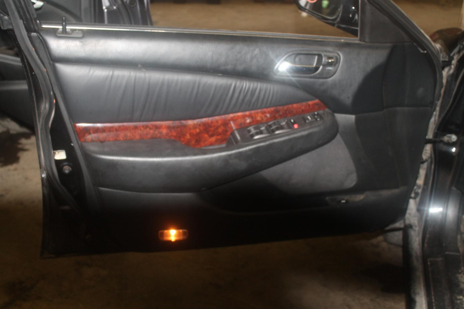 hight resolution of details about 2001 01 acura tl front interior door trim panel left driver black