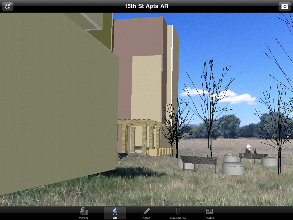 See your 3D SketchUp model in augmented reality