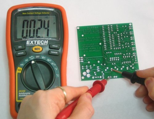 Circuit Diagram Measuring And Test Circuit Detection Thermocouple Open