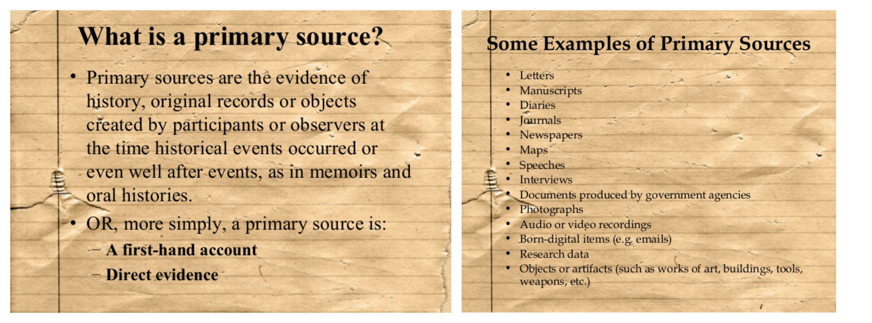 Primary Sources US History Term Paper Subject Guides At The