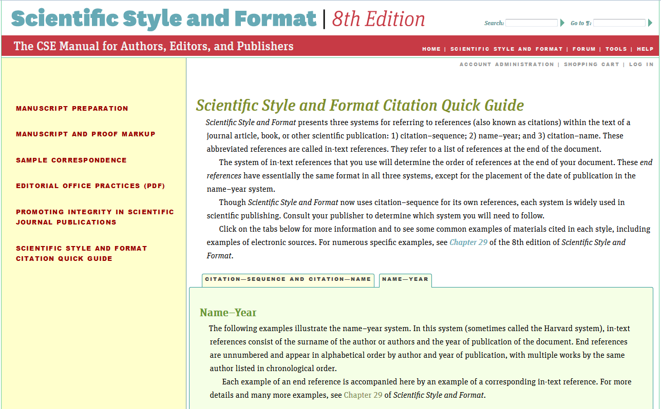 CSE Citations Citation Guides Subject & Class Guides At Helena