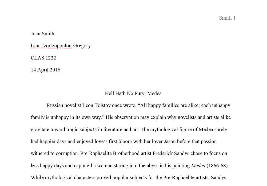 Mla Citation For Essays Format Your Paper Mla Citations Th Ed