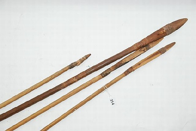 Aboriginal Hunting Spears