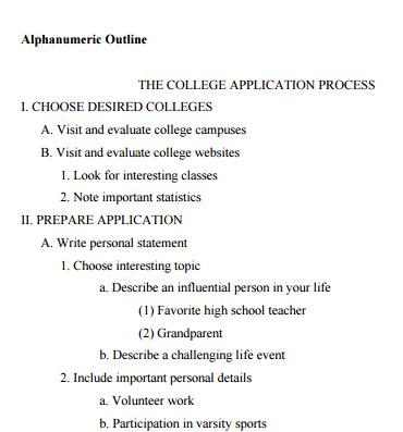 How Do I Write An Outline? LibAnswers