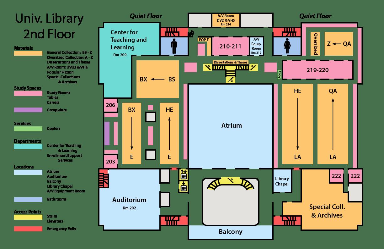 Floor Maps Amp Directions