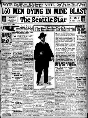 Primary Sources Washington History Pacific Northwest
