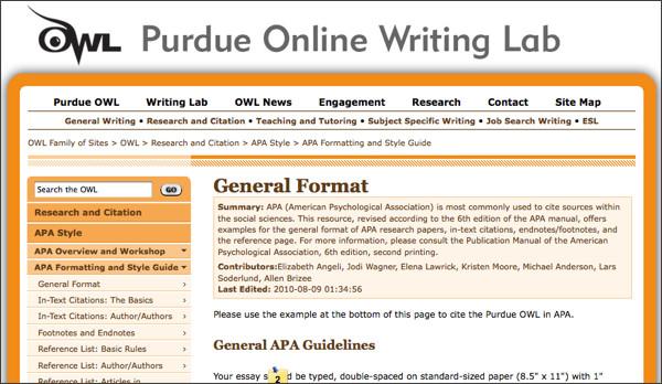 Cite Sources Arabic Language And Literature U Grant