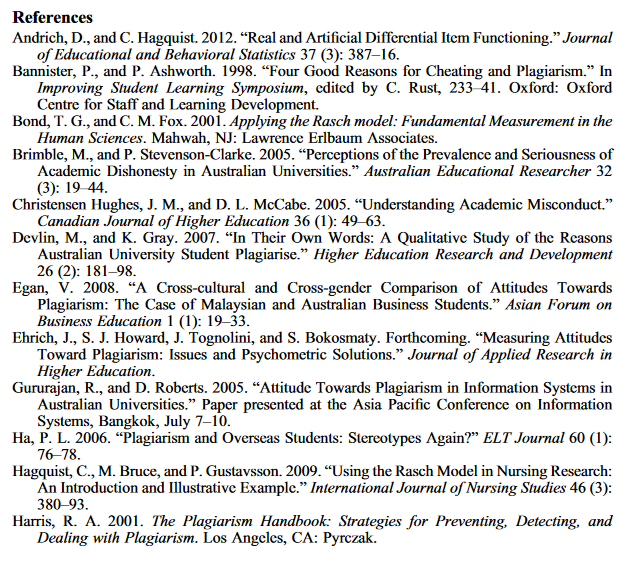 Bibliography or Reference list  The Americas  UTEP