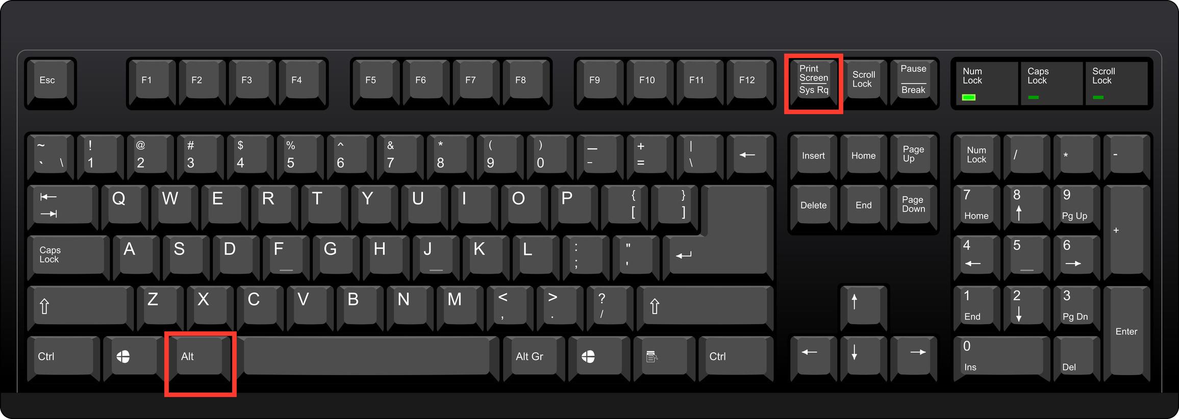 How do I take a screenshot on Windows? - ask.PLCSCOTCH