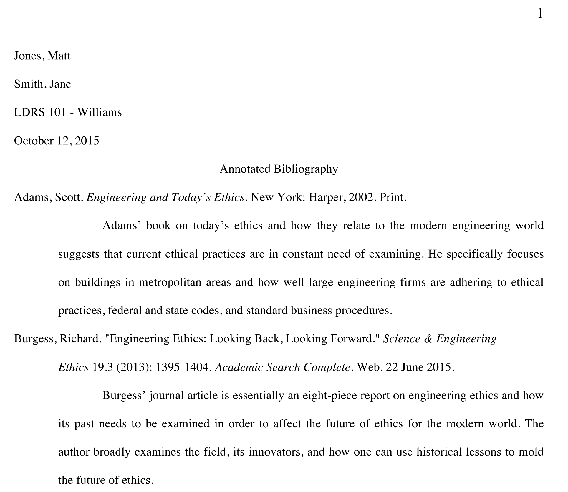 Contribute Synonym Resume Annotated Bibliography Example Alisen Berde
