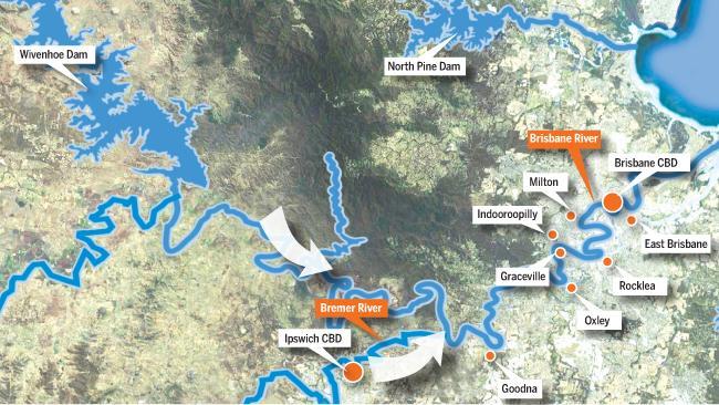 Brisbane City Council Flood Map