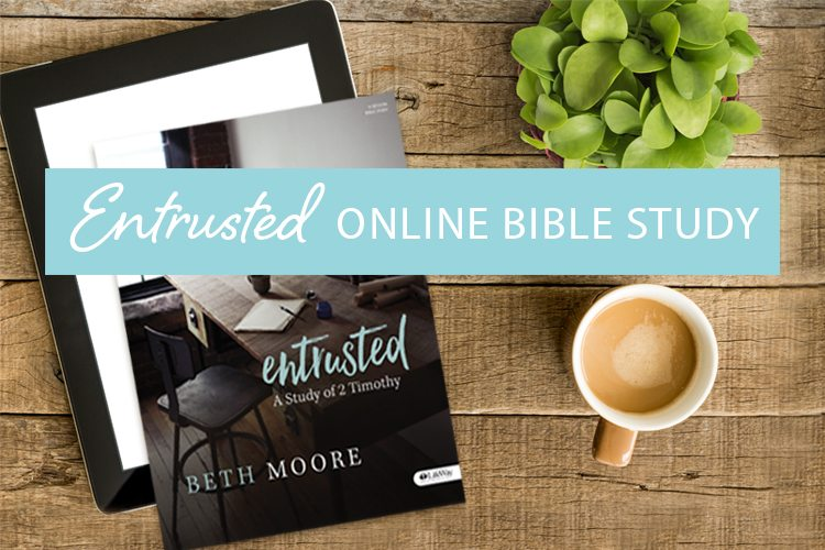Entrusted Online Bible Study Sign-up