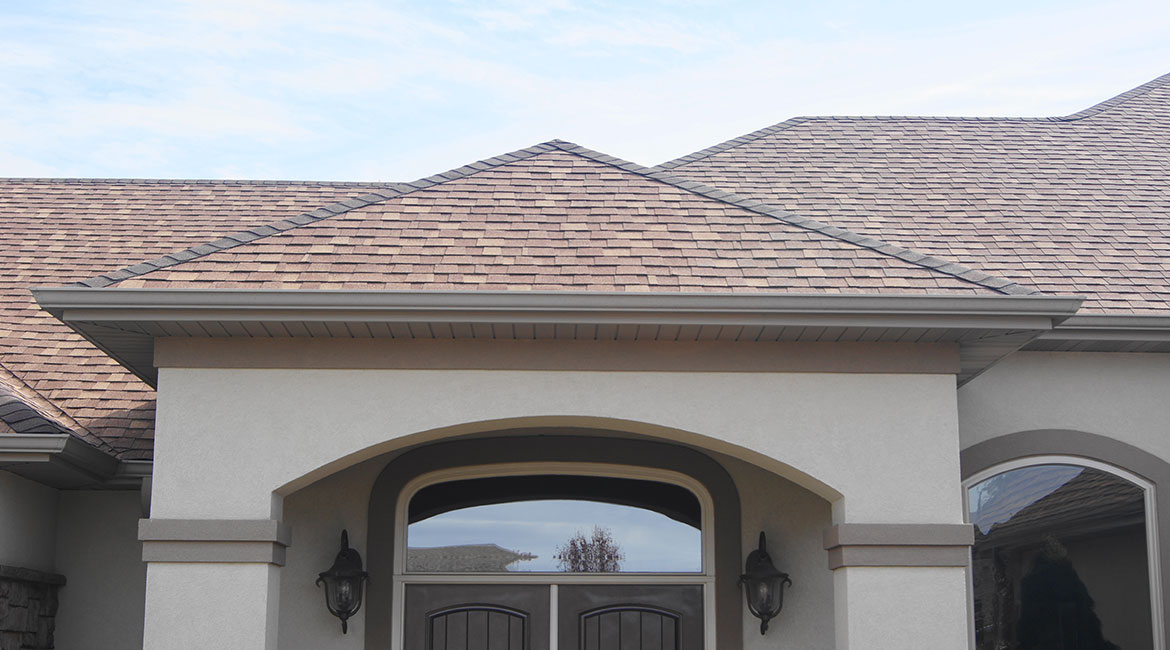 Customized decorative roof by TrueSon Exteriors