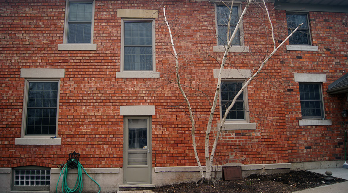 Small windows intalled by TrueSon Exteriors
