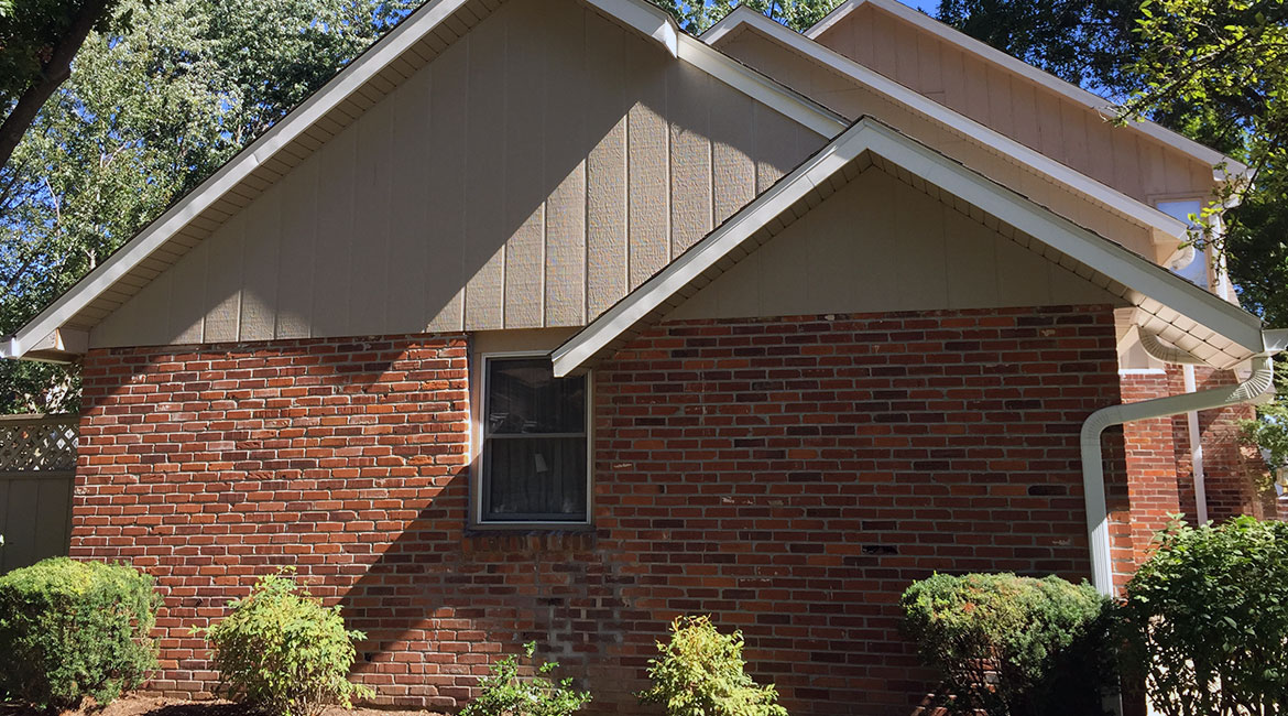 Quality siding done by TrueSon Exteriors