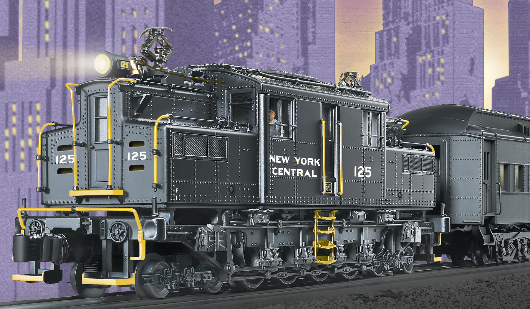 hight resolution of new york central tmcc s 2 electric 125 lionel track wiring diagram lionel train wiring operation for two