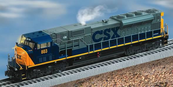 CSX LionMaster TMCC SD80MAC #803