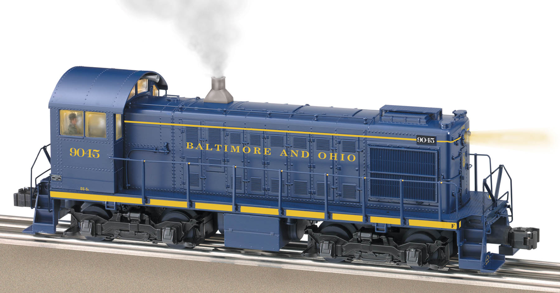 Baltimore & Ohio TMCC Alco S2 #9045
