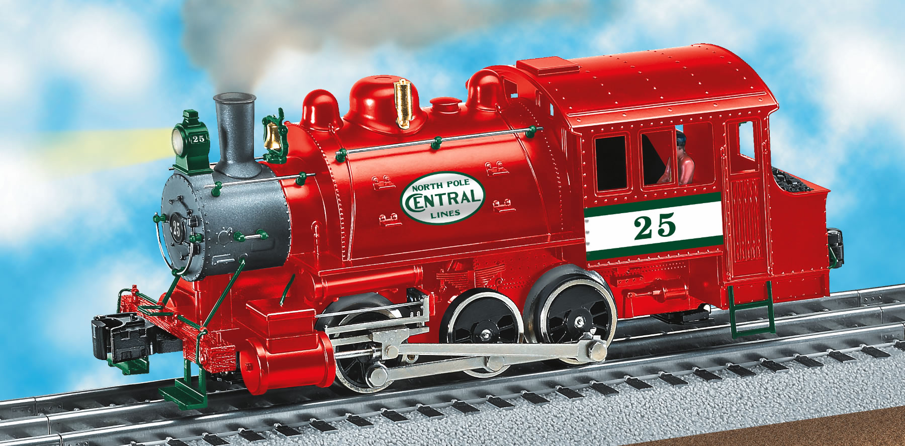 North Pole Central Lines Dockside Switcher 25
