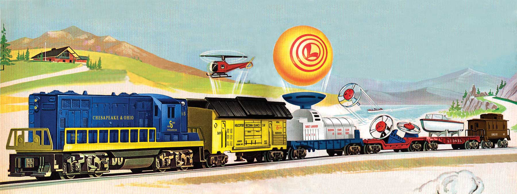 11268 c o diesel freight set conv gp7 2365  [ 1800 x 678 Pixel ]