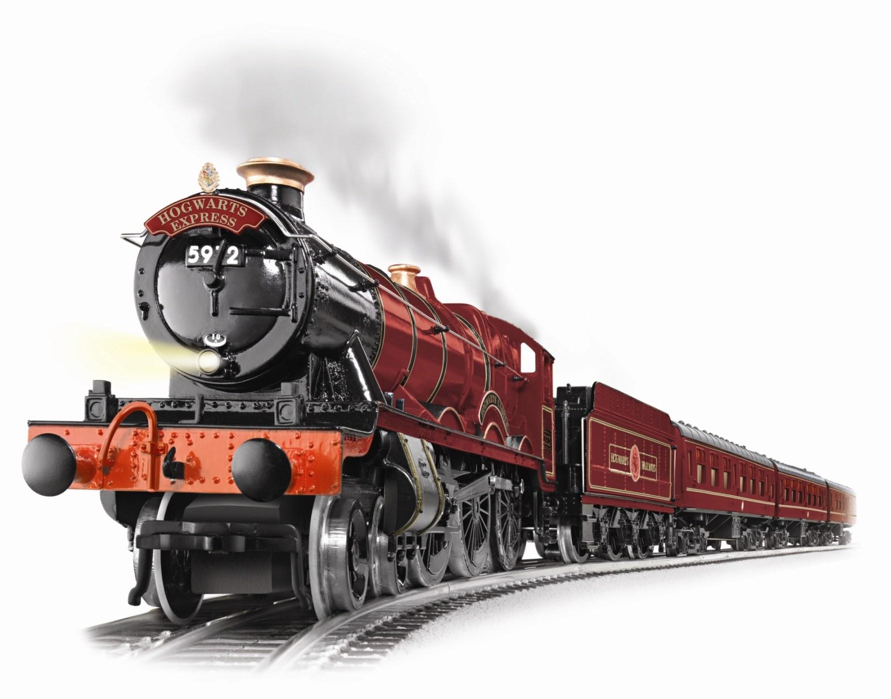 Cartoon Train Track Side View