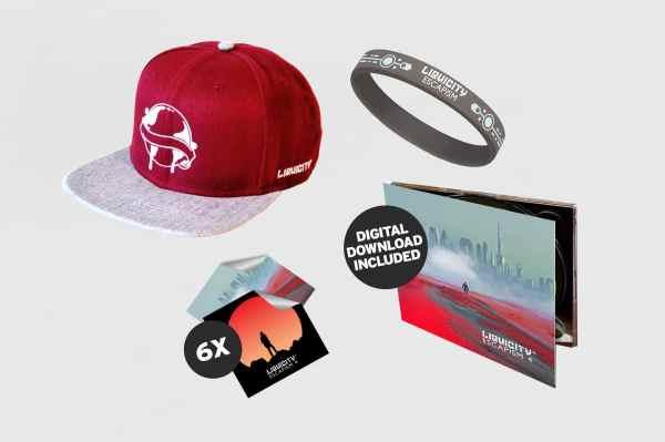 3938d074 Galaxy Of Dreams 3 Cd Digital Liquicity Store · Escapism 4 Bundle 2 Cd  Snapback Red Stickerpack