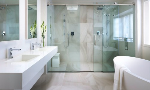 Los shower doors clave para un bao moderno  Noticia