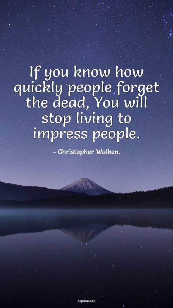 Christopher Walken Quotes : christopher, walken, quotes, Christopher, Walken, People, Quotes, Appsious.com