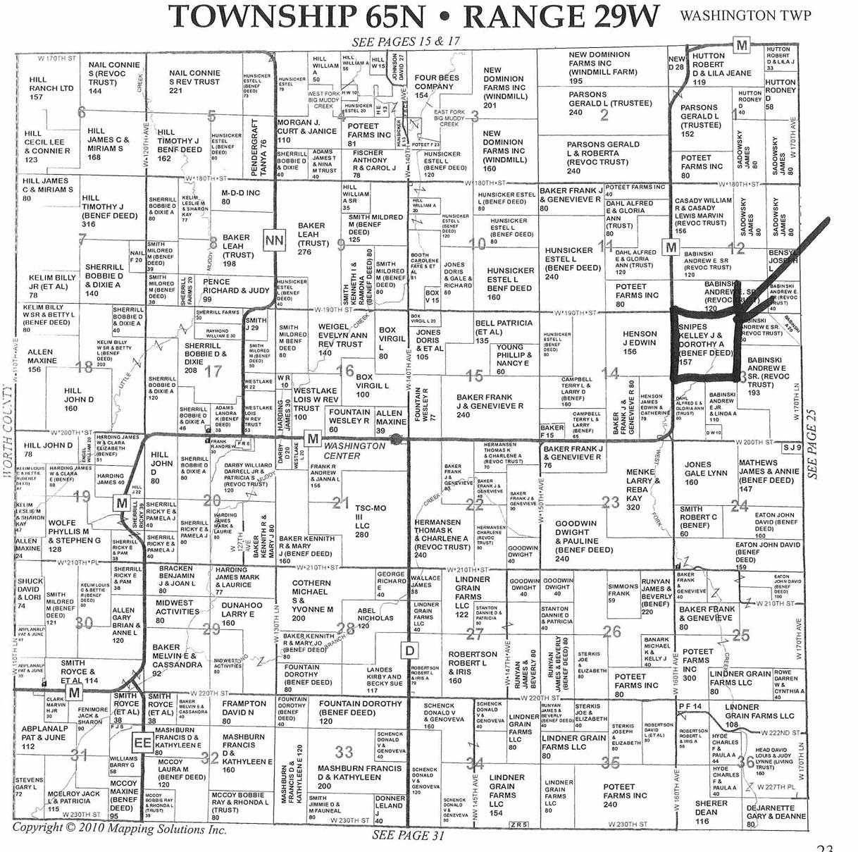 157 Acres In Harrison County Missouri